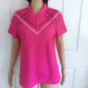 🌸Women Nike Golf Fit Dry Size M Short Sleeves